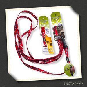 LI'L PALS Matching Collar & Leash Set (2)